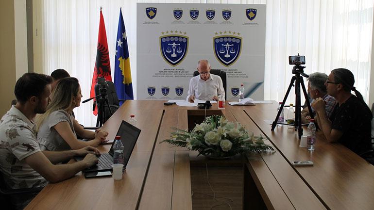 AZIZI: Gjykata Themelore e Gjilanit me përformancën më të mirë në nivel të vendit