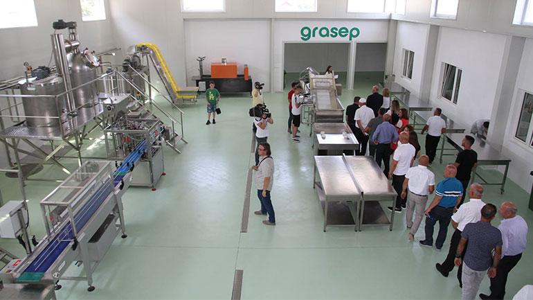 """Në Sllatinë të Epërme u hap fabrika """"Grasep"""""""