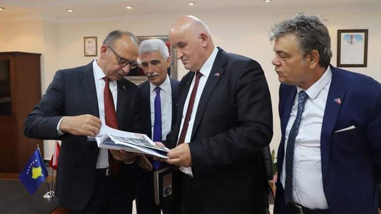 Kryetari Haliti po qëndron për vizitë zyrtare në Turqi