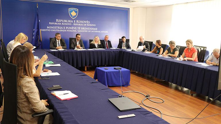 U mbajt takimi i Autoritetit Kombëtar në Luftë Kundër Trafikimit me Qenie Njerëzore