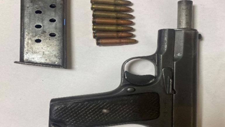 """Policia Kufitare arreston një të dyshuar për """"Mbajtje në pronësi, kontroll ose posedim të paautorizuar të armës (municionit)"""""""