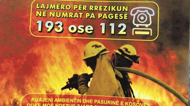 Policia inkurajon qytetarët t'i denoncojnë ata që ndezin zjarre në ambiente të hapura
