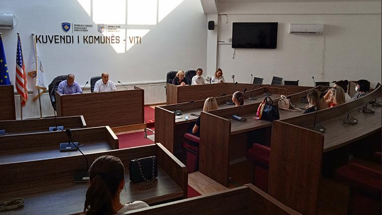 Komuna e Vitisë filloi me mbajtjen e diskutimeve publike për planifikimin e buxhetit komunal 2022-2024