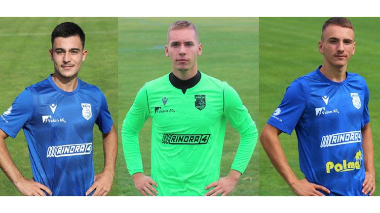 Juniorët e FC Drita, Olti Ismajli, Yll Ibrahimi dhe Shaban Shabani, ftohen nga Kosova U19