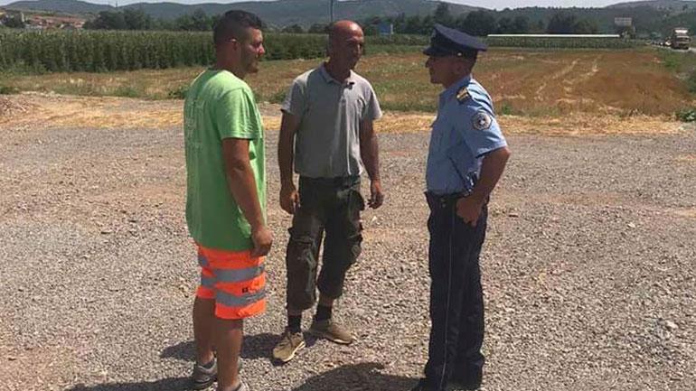 Policia e Kosovës në Kamenicë me fushatë sensibilizuese kundër përhapjes së zjarreve