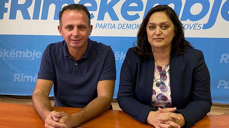 PDK-ja e Gjilanit: Leonora Bunjaku kandidate për kryetare të komunës, Riad Rashiti ud.kryetar i Degës