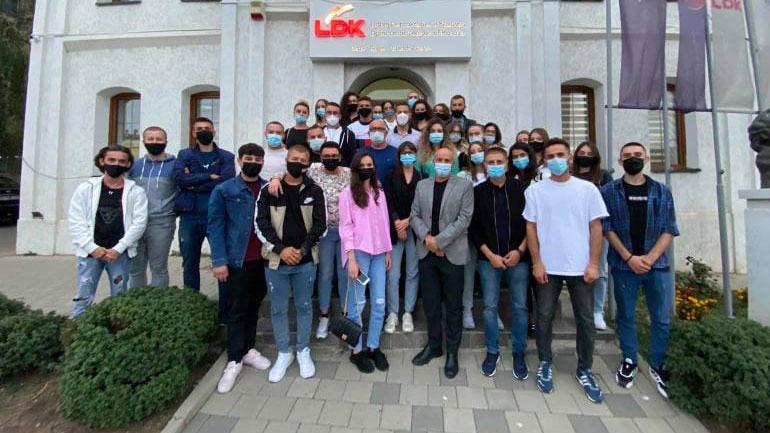 LDK në Gjilan po i vazhdon takimet me të gjitha strukturat e saja
