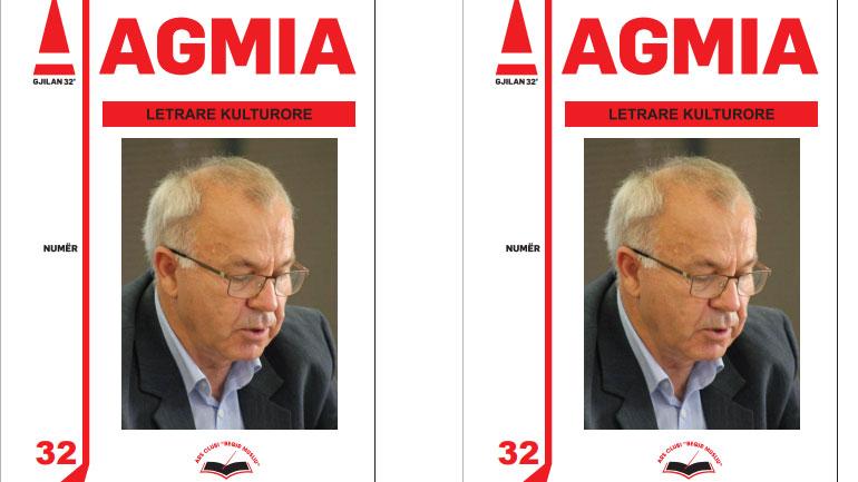 """Numri më i ri i revistës letrare """"Agmia"""", i kushtohet shkrimtarit Nexhat Rexha"""
