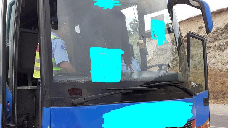 Policia, njësitet e trafikut rajonal në Gjilan, të përkushtuar në kontrolle ndaj mjeteve të transportit publik