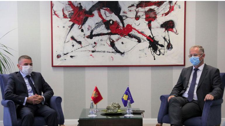 Zëvendëskryeministri Bislimi priti në takim të ngarkuarin e ri me punë në Ambasadën e Malit të Zi në Kosovë, Mirsad Biboviq