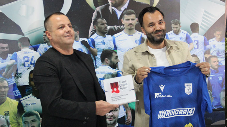 Marrëveshje bashkëpunimi, FC Drita – Teatri i Qyteti