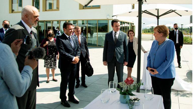 Kryeministri i Republikës së Kosovës, Albin Kurti takoi Kancelaren e Republikës Federale të Gjermanisë, Angela Merkel