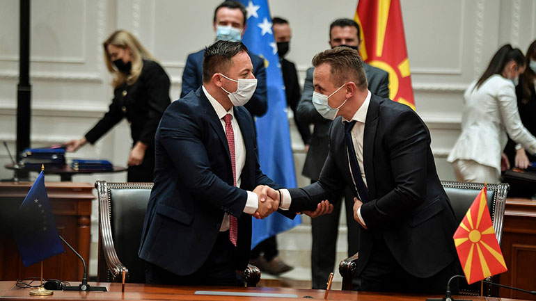 Kosova e Maqedonia e Veriut me bashkëpunim fqinjësor në fushën e mbrojtjes dhe sigurisë