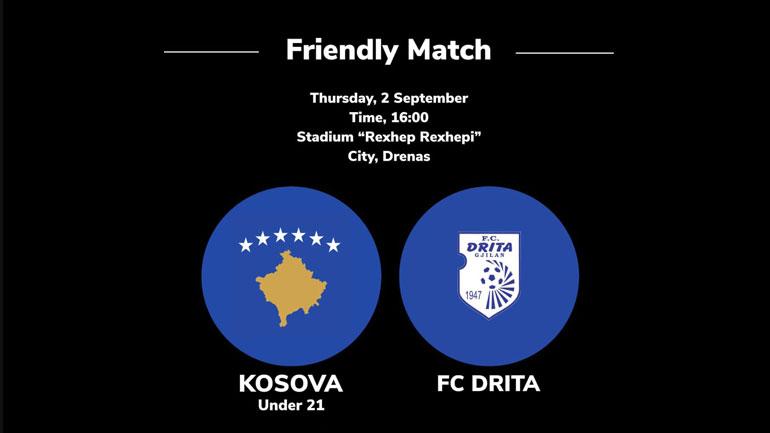 Të enjten miqësorja Kosova U21 – FC Drita