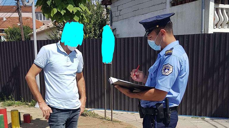 Policia në Gjilan e përkushtuar në zbatim te masave sipas Ligjit anti COVID (foto)