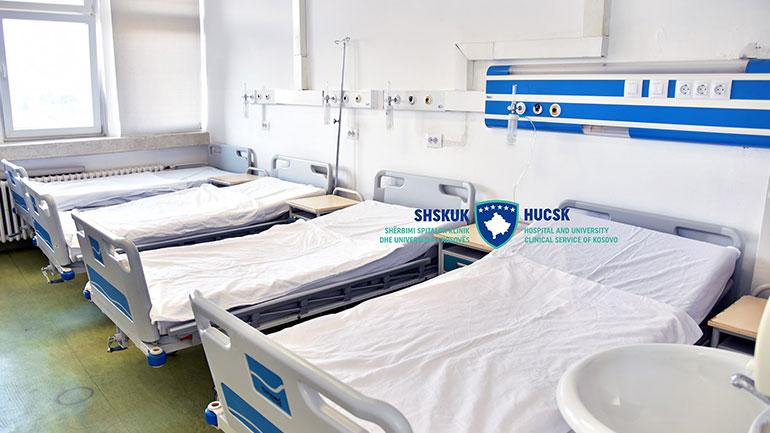 Në Klinikën e Pulmologjisë s'ka më pacientë të prekur me COVID