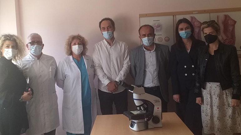 """Spitali i Gjilanit përfiton një mikroskop donacion nga Qeveria Japoneze, përmes """"Action for Mothers and Childern"""""""