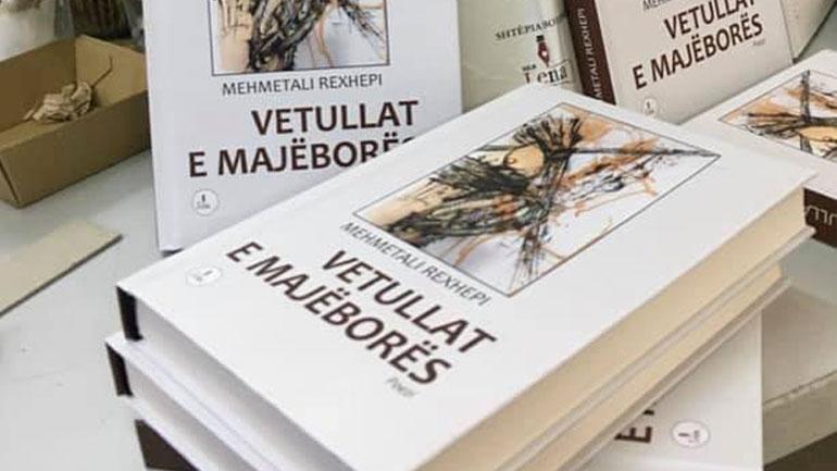 """""""VETULLAT E MAJËBORËS"""", libri i ri i Mehmetali Rexhepit"""